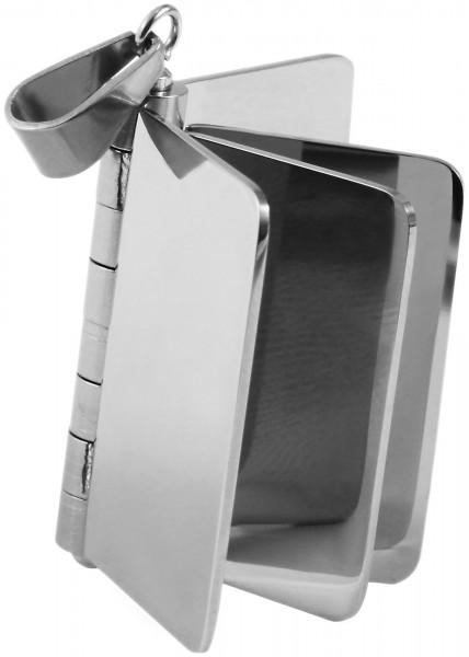 Akzent Edelstahlanhänger in , Breite: 44 mm / Höhe: 37 mm