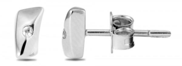 925 Silber Ohrstecker, 925/, 1,1 gr., rhodiniert