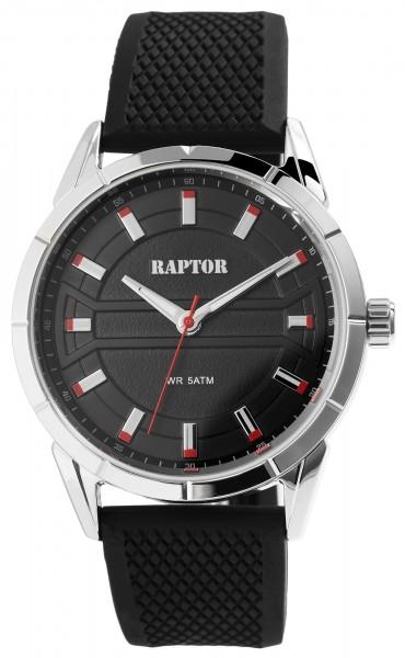 Raptor Herrenuhr mit Silikonband