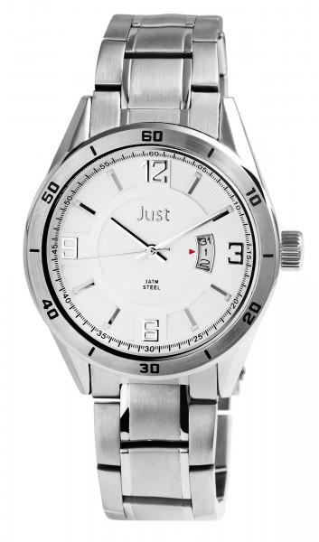 Just JU228 Analog Herrenuhr mit Edelstahlband - UVP 59,95 €