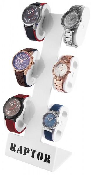 Raptor Uhrenaufsteller 6 Uhren