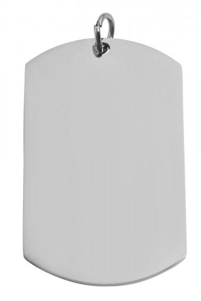 Akzent Edelstahlanhänger in , Breite: 30 mm / Höhe: 50 mm