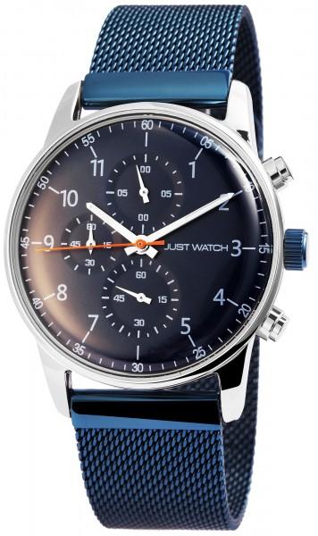 Just Watch JW028 Chronograph Herrenuhr mit Edelstahlband - UVP 79,95 €