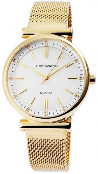 Just Watch JW029 Analog Damenuhr mit Edelstahlband - UVP 49,95€