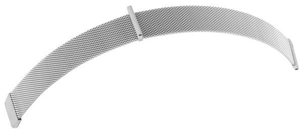 Mesharmband aus Edelstahl mit Magnetverschluß,