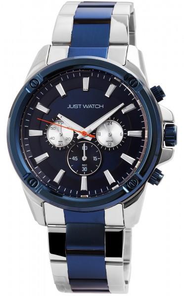 Just Watch JW0016 Chronograph Herrenuhr mit Edelstahlband - UVP 79,95€