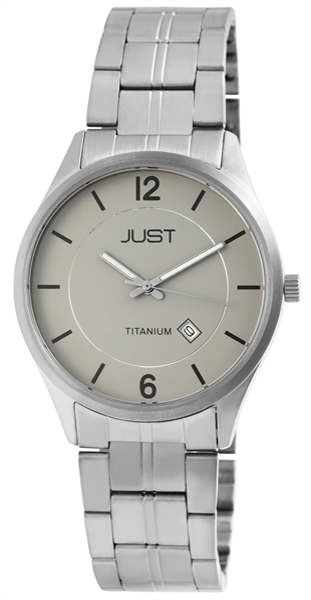 Just Titan Herrenuhr mit Titanband