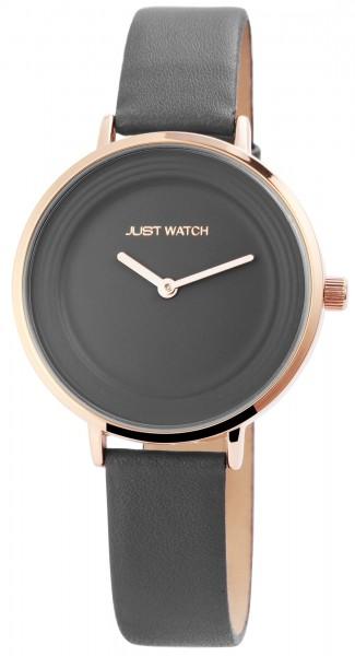 Just Watch Analog Damenuhr mit Echtlederband - UVP 49,95 €
