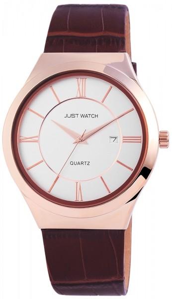 Just Watch JW7411 Analog Herrenuhr mit Echtlederband - UVP 39,95 €