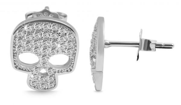 925 Silber Ohrring, 925/rhodiniert, 2g