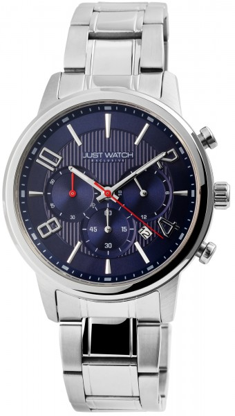 Just Watch Exclusive Herren Chronograph mit Edelstahlband - UVP 89,95€