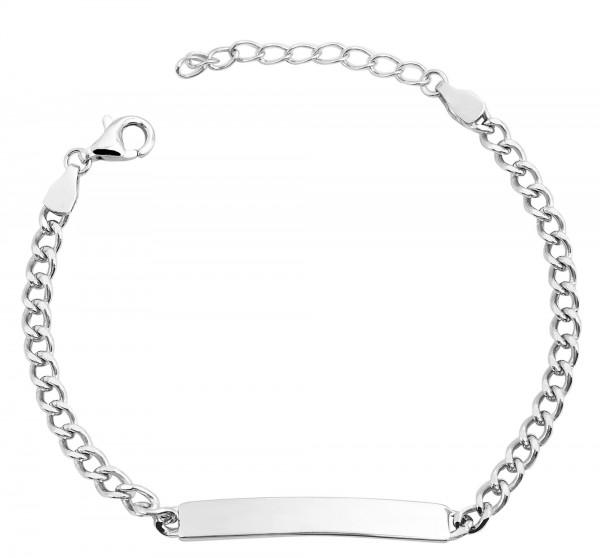 925 Silber Armband , 14+3cm, 925/ rhodiniert, 2,8g