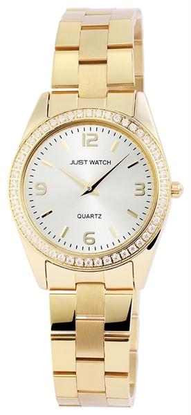 Just Watch JW10680 Analog Damenuhr mit Edelstahlband - UVP 49,95€