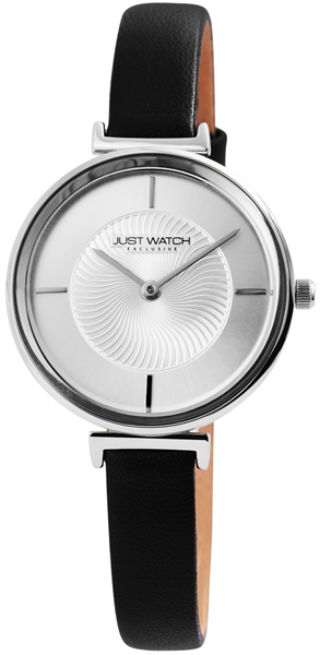 JUST WATCH EXCLUSIVE JWE003 Analog Damenuhr mit Echtlederband - UVP 49,95€