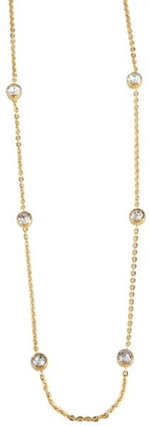 Just Halskette aus Edelstahl mit IP Gold-Beschichtung l UVP 35,00 €